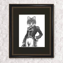 Load image into Gallery viewer, Admiral Fox Framed Print