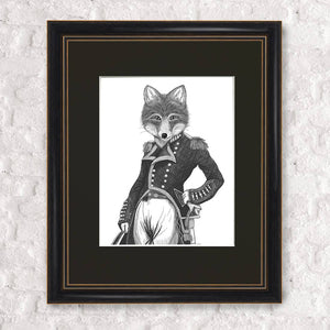 Admiral Fox Framed Print