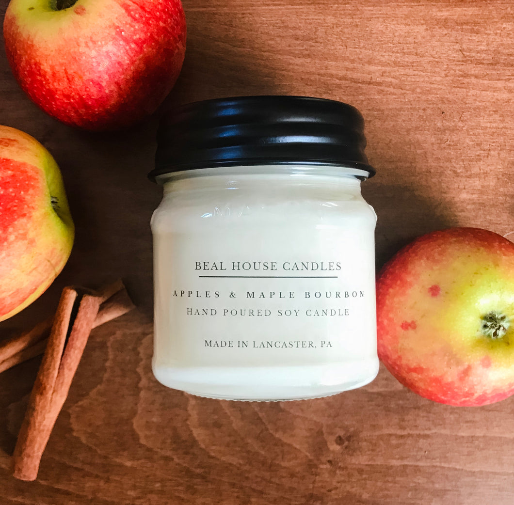 Beal House Apples & Maple Bourbon Candle