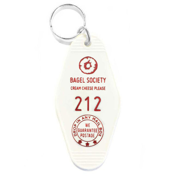 Bagel Society Key Tag