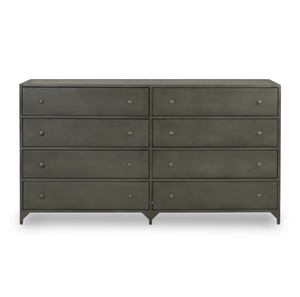 Belmont 8-Drawer Metal Dresser