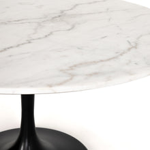 Load image into Gallery viewer, Powell Dining Table- White Marble