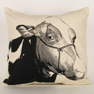 Eric & Christopher Cow II Pillow