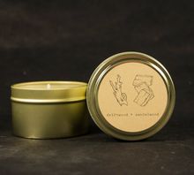Load image into Gallery viewer, Moonrise Driftwood + Sandalwood Candle