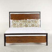 Load image into Gallery viewer, Easton Faux Live-Edge Bed
