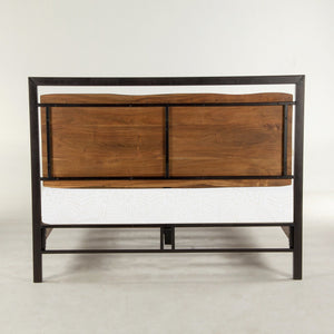 Easton Faux Live-Edge Bed