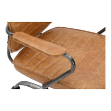 Load image into Gallery viewer, Executive Swivel Office Chair- Cognac