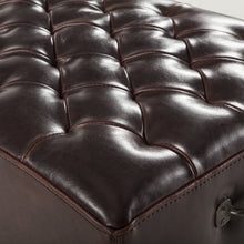 Load image into Gallery viewer, D'Orsay Leather Bench