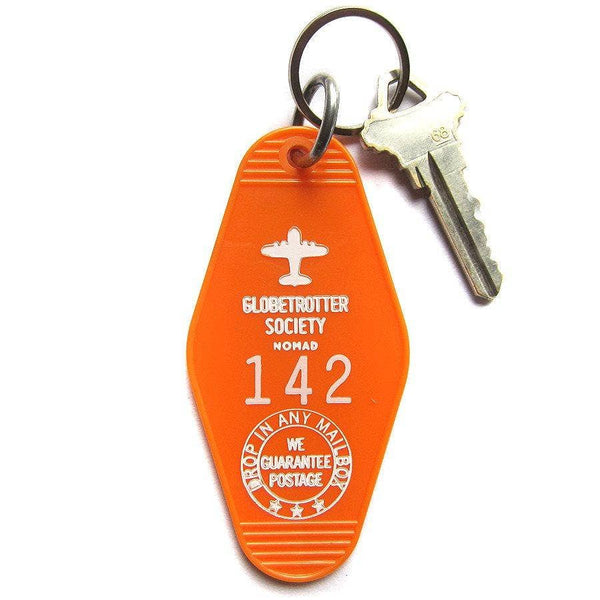 Globetrotter Society Key Tag
