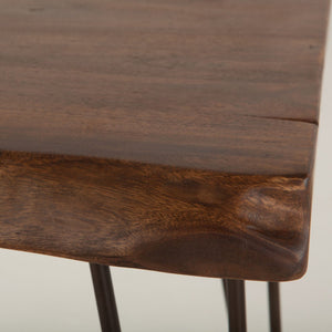 Greenwich Live-Edge Side Table