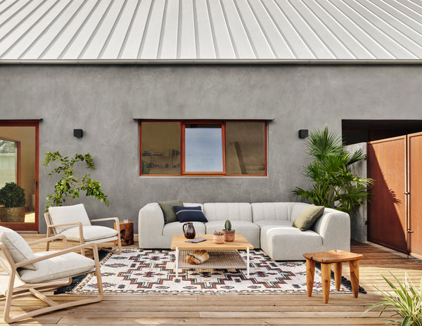Gwen Outdoor 4-Piece Sectional