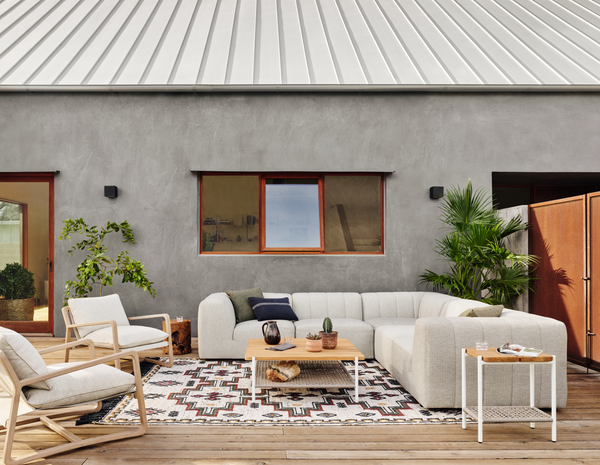 Gwen Outdoor 5-Piece Sectional
