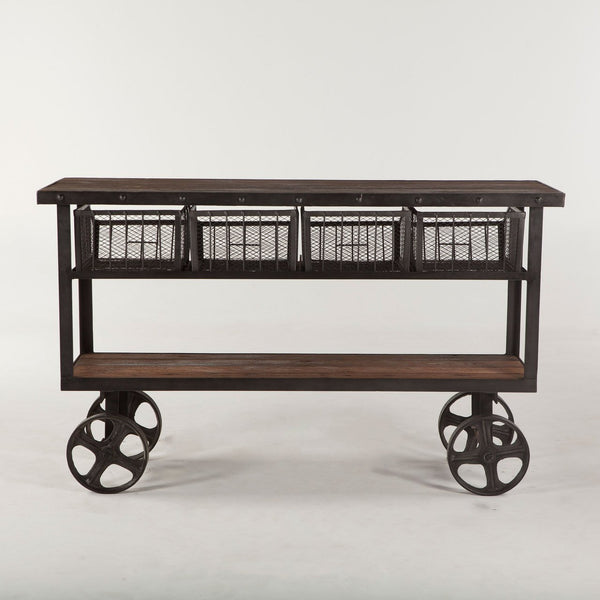 Hoover Mason Four-Drawer Cart