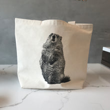 Load image into Gallery viewer, Groundhog tote