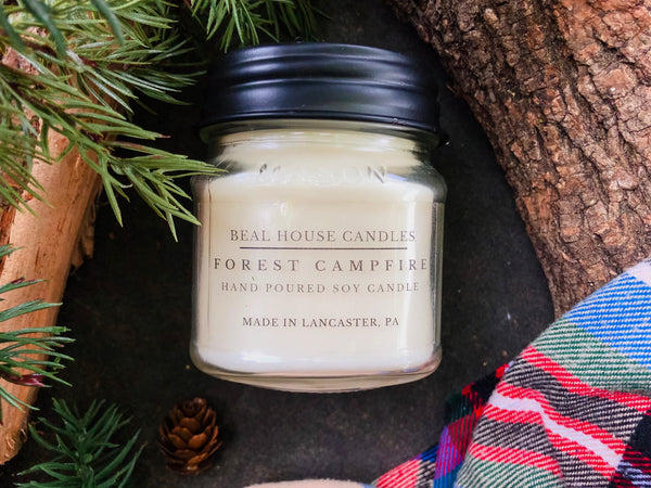 Beal House Forest Campfire Candle