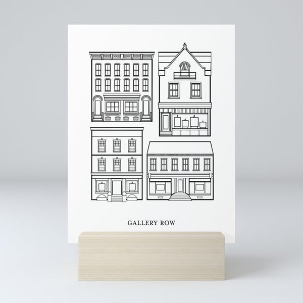"Paper Jane Studio ""Gallery Row"" Print"