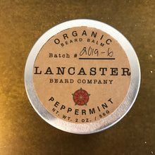 Load image into Gallery viewer, Lancaster Beard Company Peppermint Beard Balm
