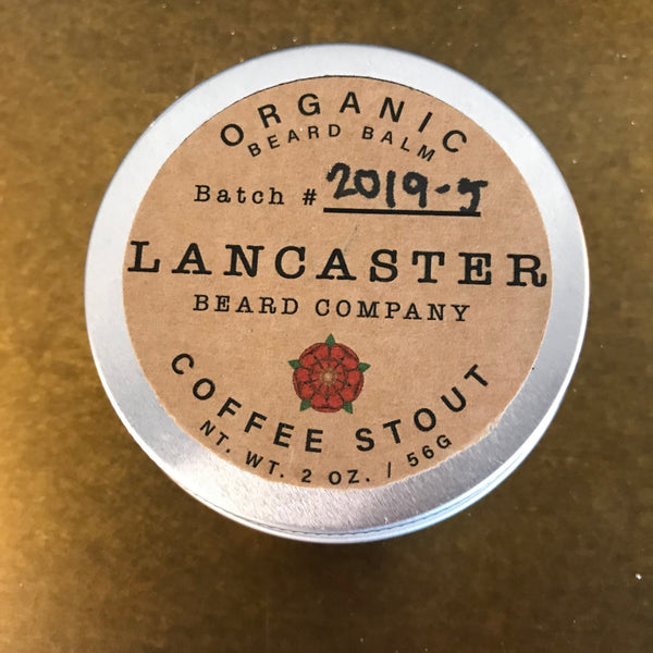 Lancaster Beard Company Coffee Stout Beard Balm