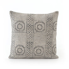 Load image into Gallery viewer, Faded Block Print Pillow