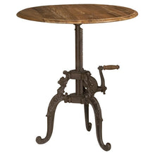 Load image into Gallery viewer, Lafayette Adjustable Crank Side Table