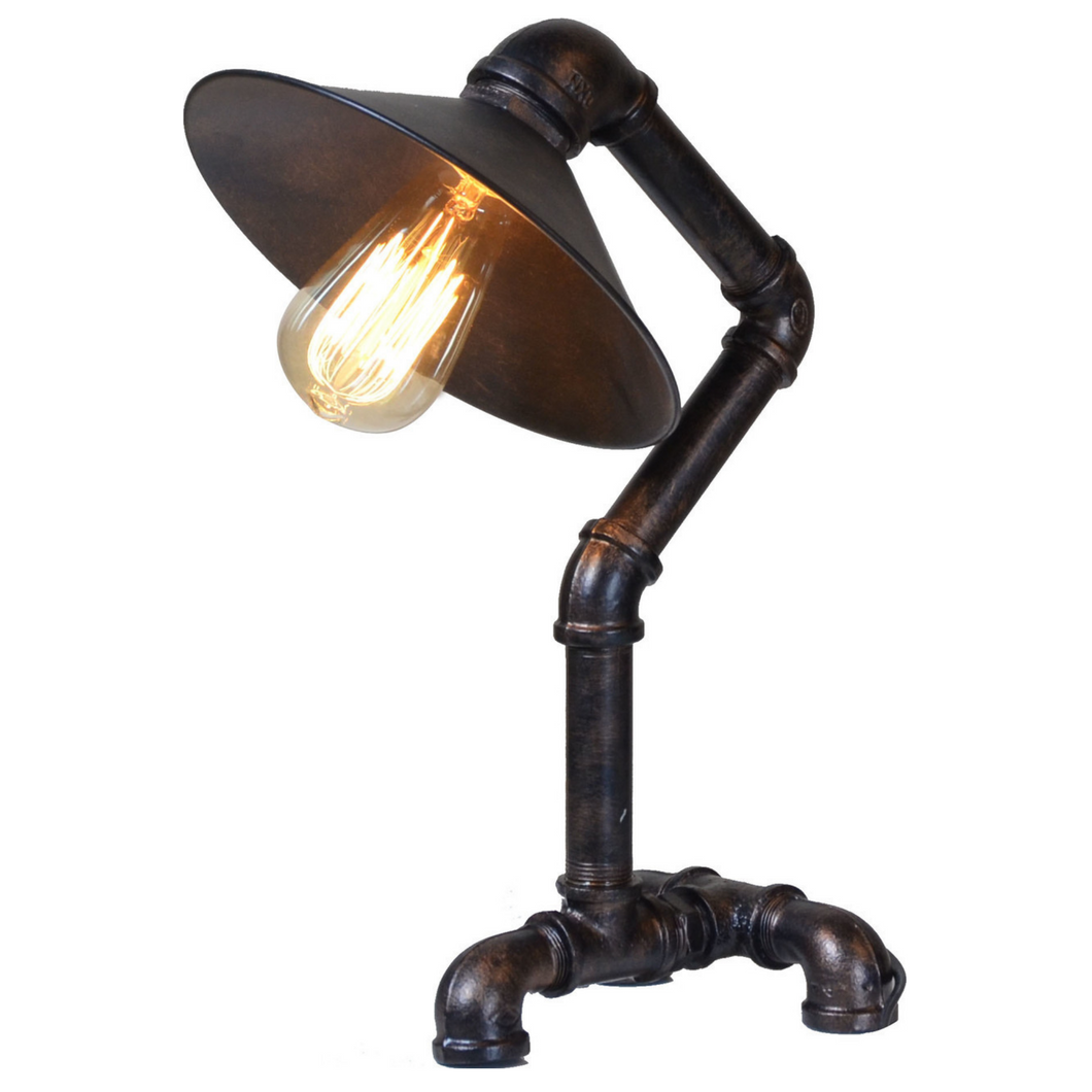 Omaha Industrial Pipe Table Lamp