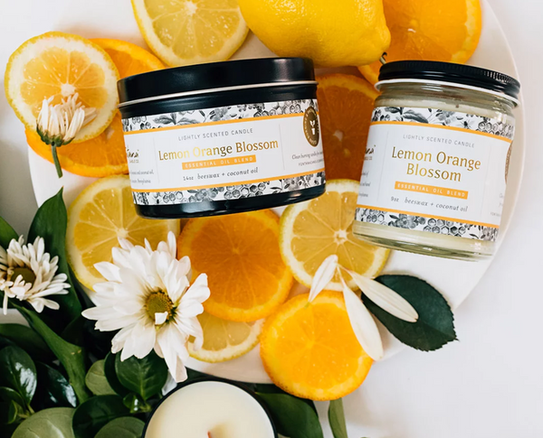 Fontana Candle Company Lemon Orange Candle