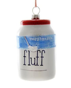 Marshmallow Fluff Ornament