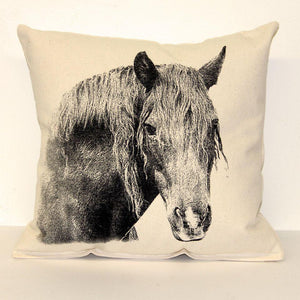 Eric & Christopher Horse Pillow