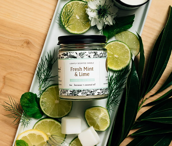 Fontana Candle Company Fresh Mint & Lime Candle
