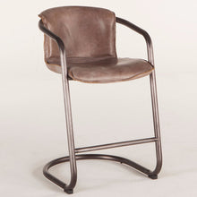 Load image into Gallery viewer, Nisky Leather Counter Chair
