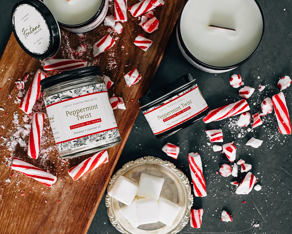 Fontana Candle Company Peppermint Twist Candle