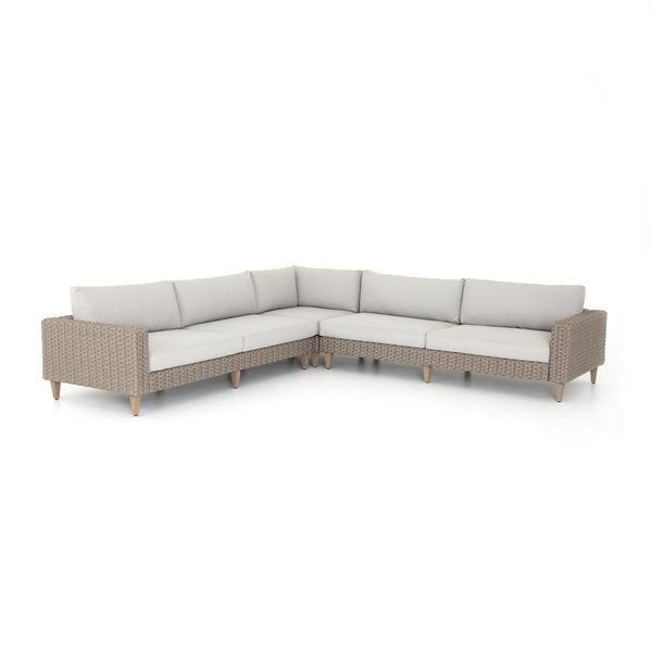 Remi Outdoor 3-Piece Sectional