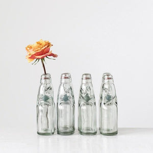 Vintage Reproduction Glass Soda Bottle