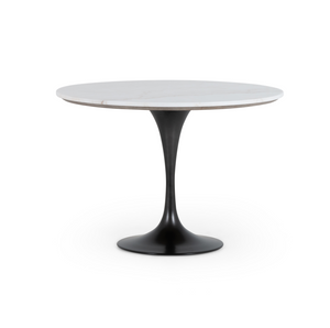 Powell Dining Table- White Marble