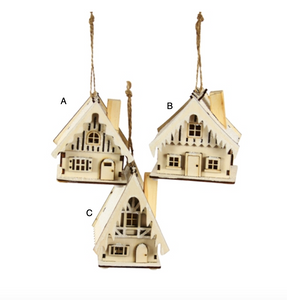 Swiss Chalet Ornament