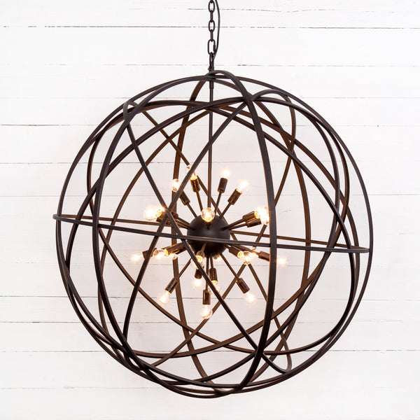 Floor Model Tennyson Large Chandelier