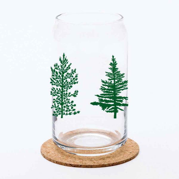 Tree Beer Can Glass