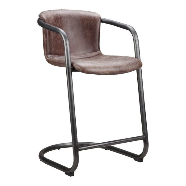 Truman Leather Counter Chair