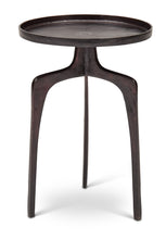 Load image into Gallery viewer, Vinya End Table- Raw Bronze