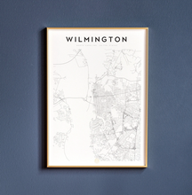 Load image into Gallery viewer, Wilmington Map Print