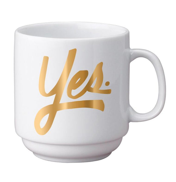 Yes Stackable Mug
