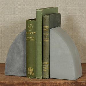 Arch Geometric Cement Bookends