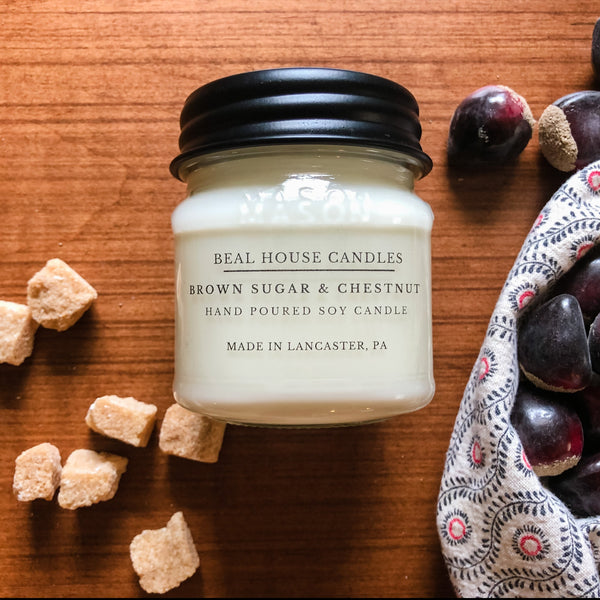 Beal House Brown Sugar & Chestnut Candle