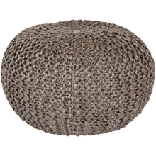 Load image into Gallery viewer, Somerset Knitted Pouf