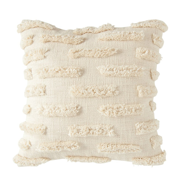 Woven Pillow with Fringe