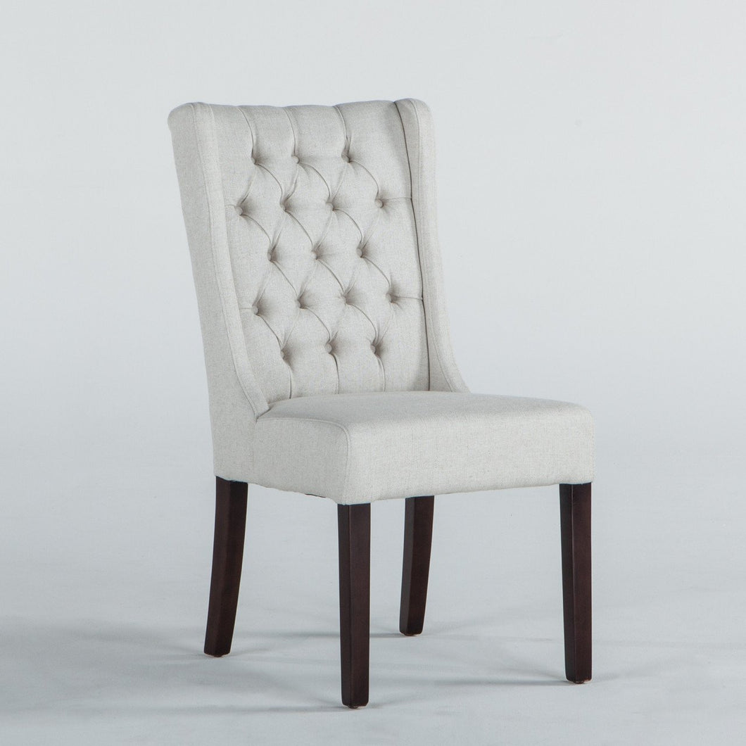 Lara Dining Chair, Dark Legs