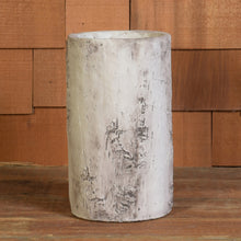 Load image into Gallery viewer, Faux Birch Cement Vase