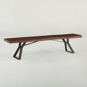 Mulberry Loft Live Edge Bench