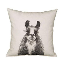 Load image into Gallery viewer, Eric & Christopher Llama II Pillow
