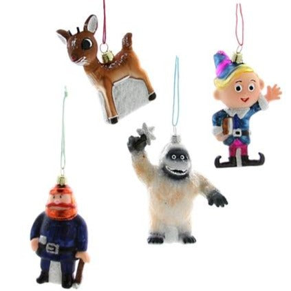 Retro Rudolph Characters Ornament